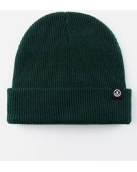 3d6acd68 Lyst - Vans Core Basics Beanie Darkest Spruce in Green for Men