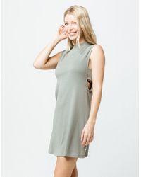 RVCA - Talin Cover Up Dress - Lyst