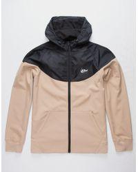 Imperial Motion - Larter Softshell Khaki Mens Hooded Jacket - Lyst