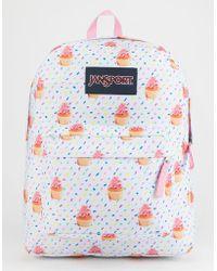 8fcf95d3362 Lyst - Jansport X Disney Blooming Minnie Superbreak Backpack