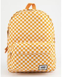 Vans - Realm Classic Checkerboard Backpack - Lyst