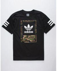 adidas - Camo Classic Mens T-shirt - Lyst