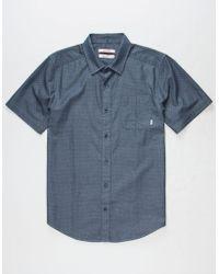 Nixon - Pomos Mens Shirt - Lyst