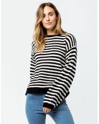 Amuse Society - Rosa Fleece (stripe) Women's Clothing - Lyst