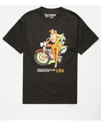 LRG - Hula Girl Black Mens T-shirt - Lyst