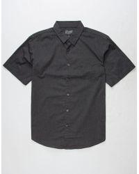 Retrofit - Owen Poplin Mens Shirt - Lyst