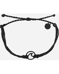 Pura Vida - Wave Black Bracelet - Lyst