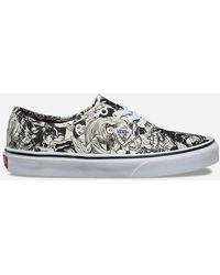 Vans - X Marvel Authentic Womens Shoes - Lyst