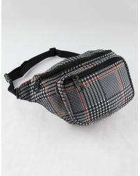 Dickies - Glen Plaid Fanny Pack - Lyst