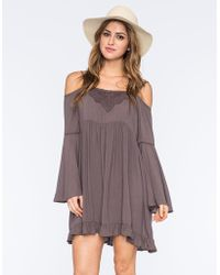 Others Follow - Cold Shoulder Dress - Lyst