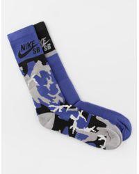 Nike - 2 Pack Dri-fit Mens Crew Socks - Lyst
