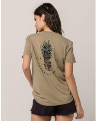 Imperial Motion - Slice Womens Pocket Tee - Lyst