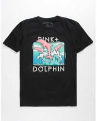 Pink Dolphin - Triple Portrait Mens T-shirt - Lyst