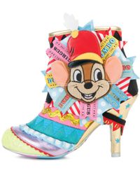 Irregular Choice - Disney's Dumbo X I Give You ...dumbo Ankle Booties - Lyst