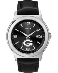 Timex - Watch Ace Green Bay Packers Silver-tone/black - Lyst