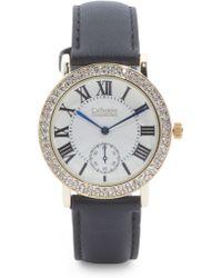 Tj Maxx - Women's Gold Tone Crystal Bezel Watch - Lyst