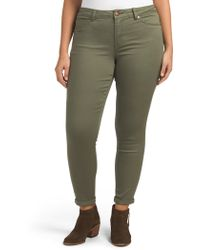 Tj Maxx - Plus Colored Baby Roll Cuff Jeans - Lyst