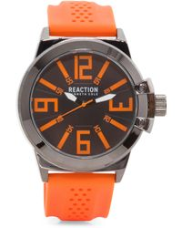 Tj Maxx - Men's Perforated Rubber Strap Watch - Lyst