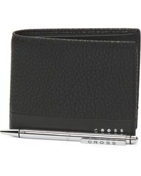 Tj Maxx - Slim Leather Wallet & Agenda Pen Gift Set - Lyst