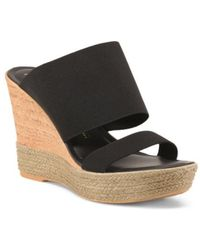 Tj Maxx - Made In Italy Two Band Wedges - Lyst