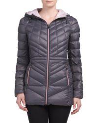 Tj Maxx - Packable Coat With Contrast Zipper - Lyst