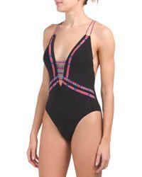 8b7c20ce10 Tj Maxx - Cha Cha Cha Goddess One-piece Swimsuit - Lyst