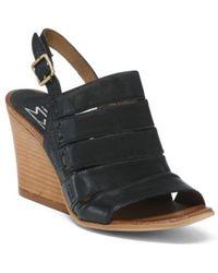 Tj Maxx | Slingback Modern Leather Sandals | Lyst