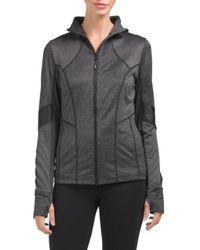 Tj Maxx - Jacquard Mock Neck Yoga Jacket - Lyst
