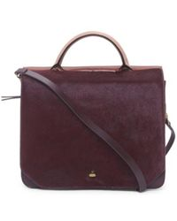 Tj Maxx - Couplet Leather Briefcase - Lyst