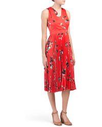 972b299215ac7 Tj Maxx Zebra Print Midi Dress - Lyst