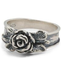 Tj Maxx - Made In Israel Sterling Silver Rose Ring - Lyst