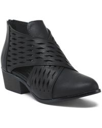 Tj Maxx - Perforated Ankle Booties - Lyst