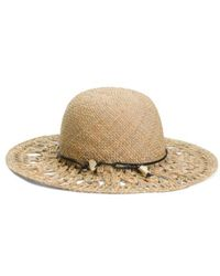 Tj Maxx - Made In Italy Straw Hat With Ornament - Lyst