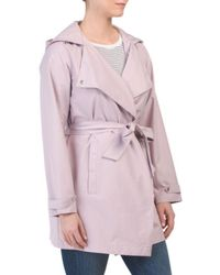 Tj Maxx - Micro Breathable Trench Coat - Lyst