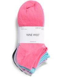 Tj Maxx | 9pk Solid Fashion Low Cut Socks | Lyst