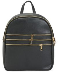 54cf0186f13400 Tj Maxx - Made In Italy Leather Backpack - Lyst