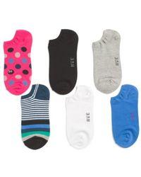 Tj Maxx - 6pk Printed Liner Socks - Lyst