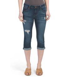 Tj Maxx - Roll Cuff Cropped Jeans - Lyst