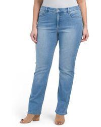 Tj Maxx - Plus Marilyn Straight Jeans - Lyst