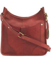 89b308a24a1 Belstaff Hampton Handbag in Red - Lyst