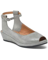 Tj Maxx - Ankle Strap Leather Comfort Wedges - Lyst