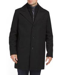 Tj Maxx - Solid Single Breasted Wool Coat - Lyst