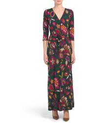 6b57575eb203 Tj Maxx Made In Italy Geo Dot Print Maxi Dress in Red - Lyst