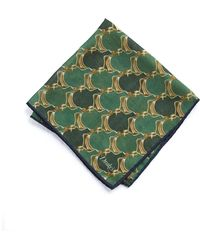 Drake's - Printed Duck Pocket Square - Lyst