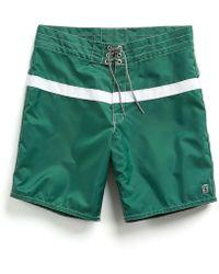 Todd Snyder - Exclusive Birdwell 311 Board Shorts In Green Surf Stripe - Lyst