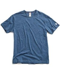 Todd Snyder - Champion Classic T-shirt In Indigo Mix - Lyst