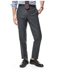 Todd Snyder - Sutton Suit Pant In Italian Natural Stretch Dark Charcoal Wool - Lyst