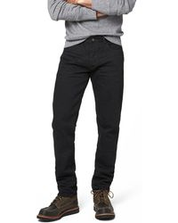 Todd Snyder - Japanese Stretch Selvedge Jean In Black Rinse - Lyst