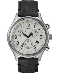Timex - Timex Mk1 Steel Chronograph With White Dial - Lyst