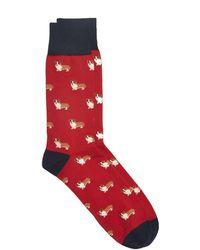 Corgi - 's Socks In Red - Lyst